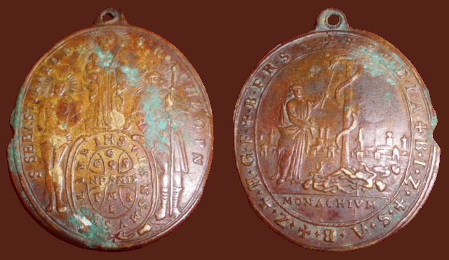 Medalla de la peste de Munich (Pestmedaille in Münche 1634) 410