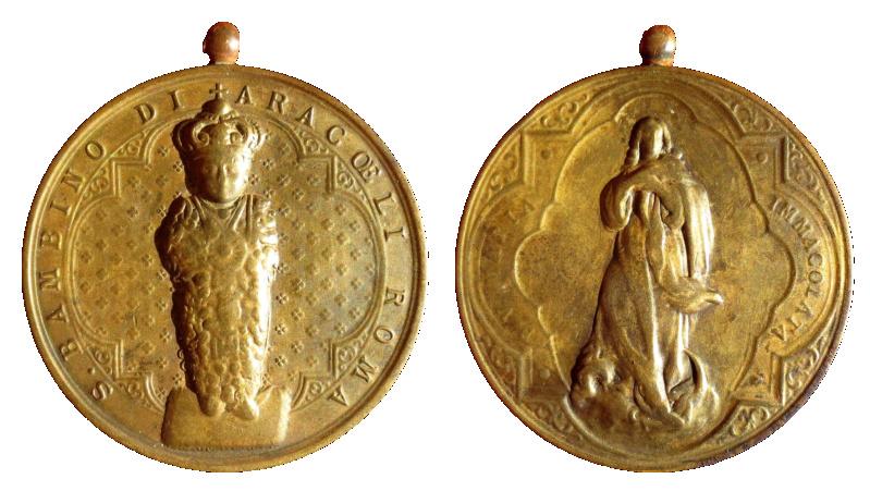 Bambino Di Aracoeli / Maria Immaculata 50a110