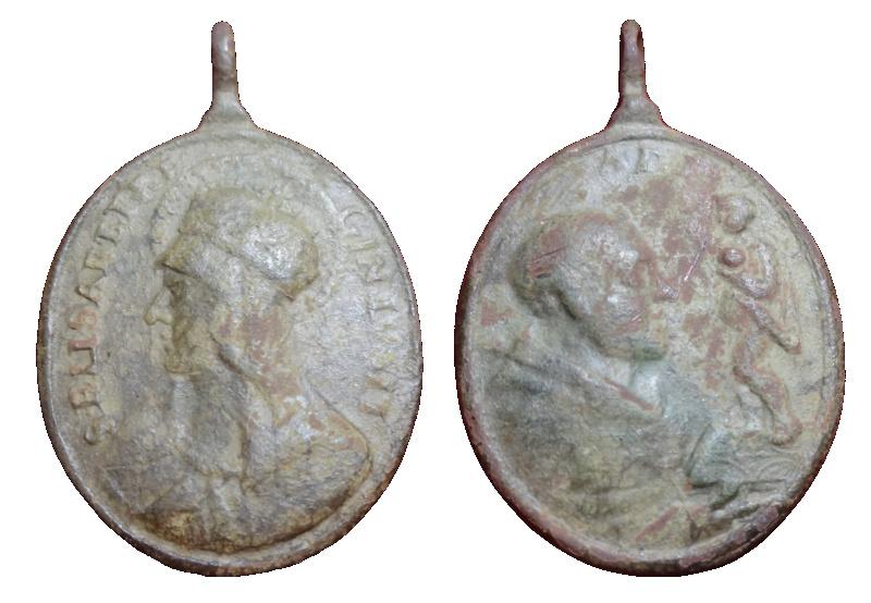 santa Isabel de Portugal / san Antonio de Padua,  S. XVIII 510