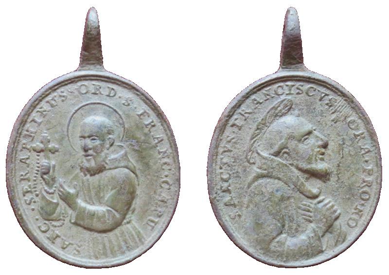 San Serafín de Montegranario / San Francisco de Asís, S. XVIII (R.M. SXVIII-O442) 54710