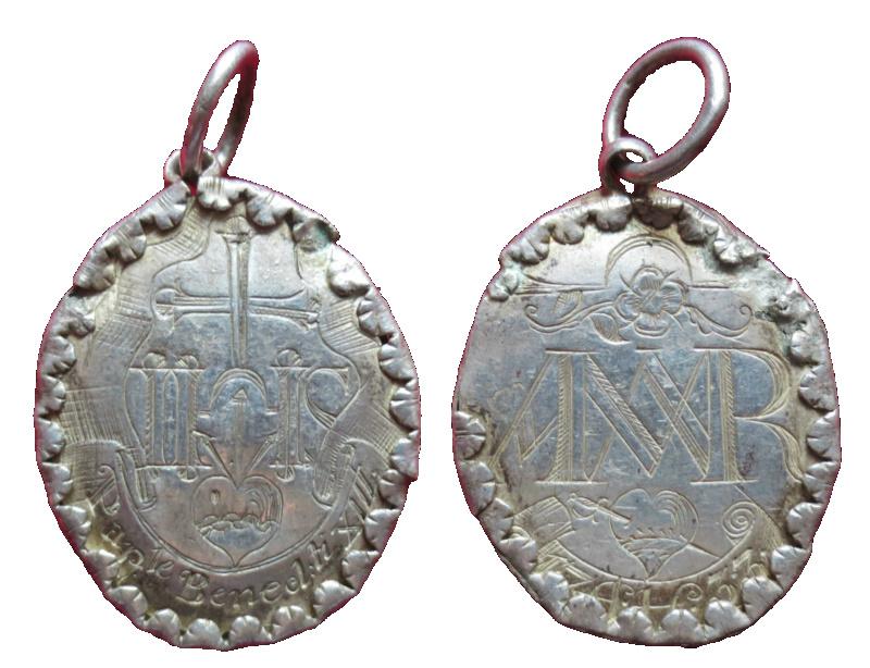 Santo Nombre de Jesús/ Santo Nombre de  María . Fechada en 1733 60010