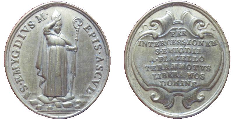 San Emigdio de Áscoli / Inscripción (R.M. SXVIII-O441) 65911