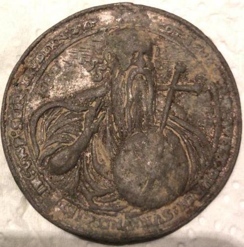 Dios Padre / Arma Christi y cinco llagas (Taller Milicz). S. XVI  82c6b510