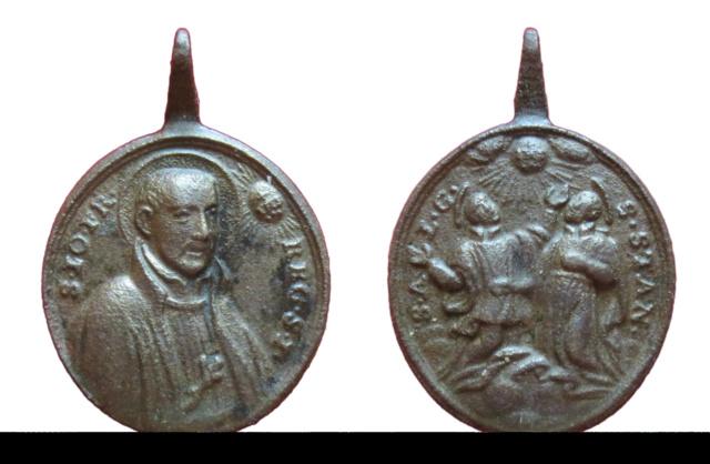 S. Juan Francisco Regis / S. Luis Gonzaga y S. Estanislao de Kostka, S. XVIII (R.M.SXVIII-O453)  91710