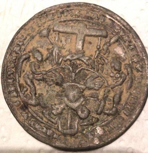 Dios Padre / Arma Christi y cinco llagas (Taller Milicz). S. XVI  B8324710