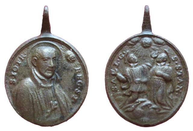 S. Juan Francisco Regis / S. Luis Gonzaga y S. Estanislao de Kostka, S. XVIII (R.M.SXVIII-O453)  Bild10