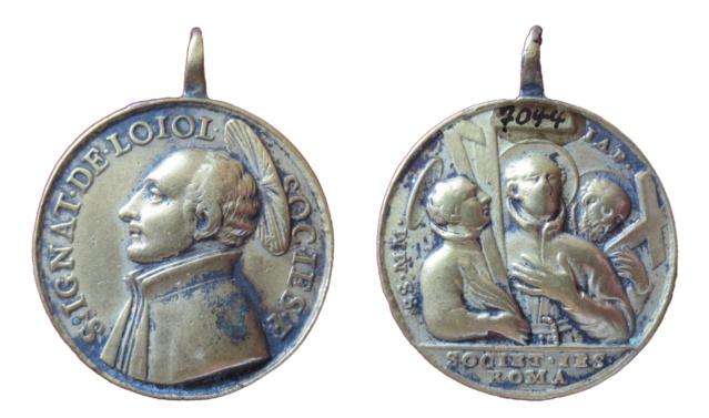 San Ignacio de Loyola / Mártires del Japón, S. XVIII (R.M. Medalla tipo: SXVIII-C183   Heil10