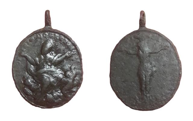 Beato Toribio de Mogrovejo / Cristo de Villaquejida, s. XVIII Hhh10