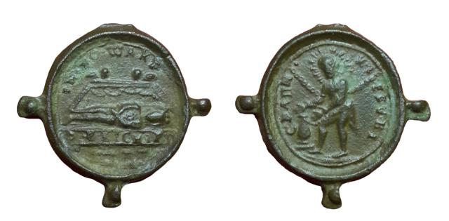 a identificar  / Cristo en la columna (Iglesia de Wies)- S. XVII Kjh10