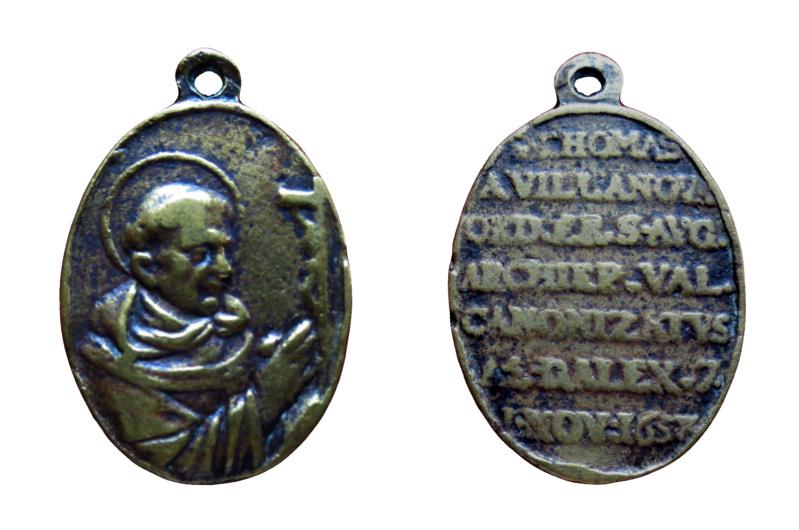 santo Tomás de Villanueva / Inscripción. Tv3411