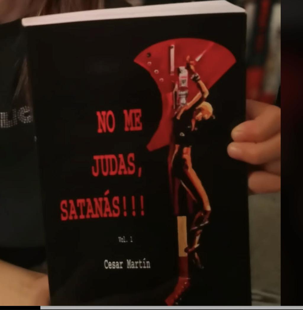 No Me Judas Satanas.... El libro Portad10