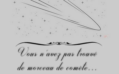 [event] Rassundi à la recherche de la comète perdut  Comzot11