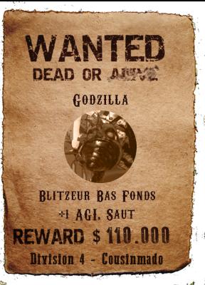 Wanted List Saison 11 Godzil10