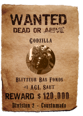 Wanted List S12 Godzil11