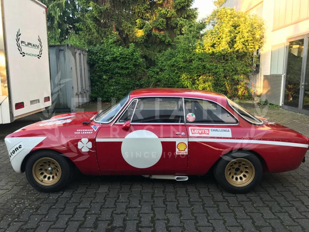Alfa Romeo Giulia Sprint GTA Junior sur rotissoire Img_0810