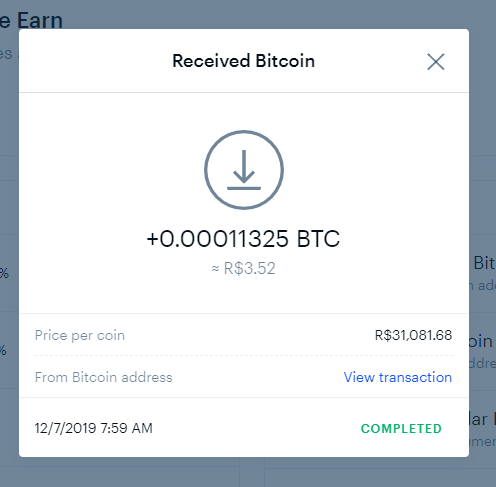 Oportunidade [Provado] Blockstack 1$ em BTC +80k sats pagos Cartei10