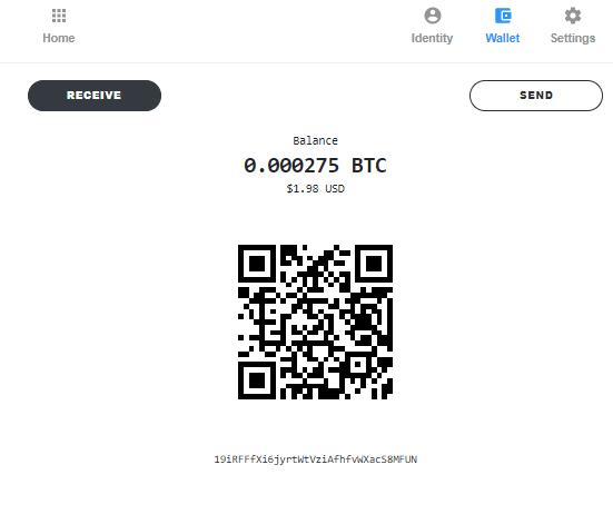 Oportunidade [Provado] Blockstack 1$ em BTC +80k sats pagos Prova_10