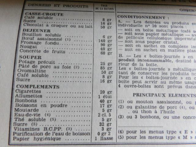 ration armée française époque inconnue 100_4115