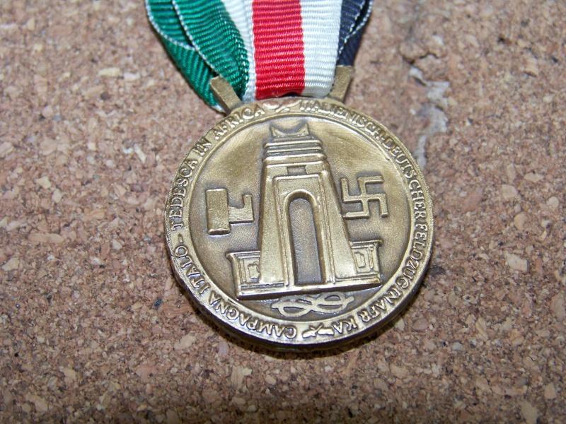 Médaille Afrikakorps 100_4910