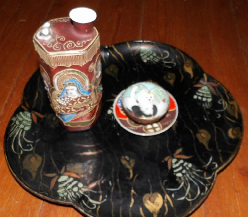 le saké dans l'armée japonaise et ses accessoires pendant la seconde guerre . 100_5158