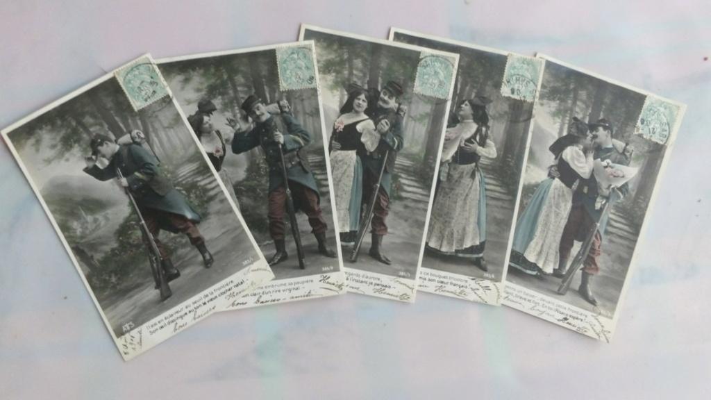 Cartes postales patriotiques françaises de la Grande Guerre - recensement 100_5711