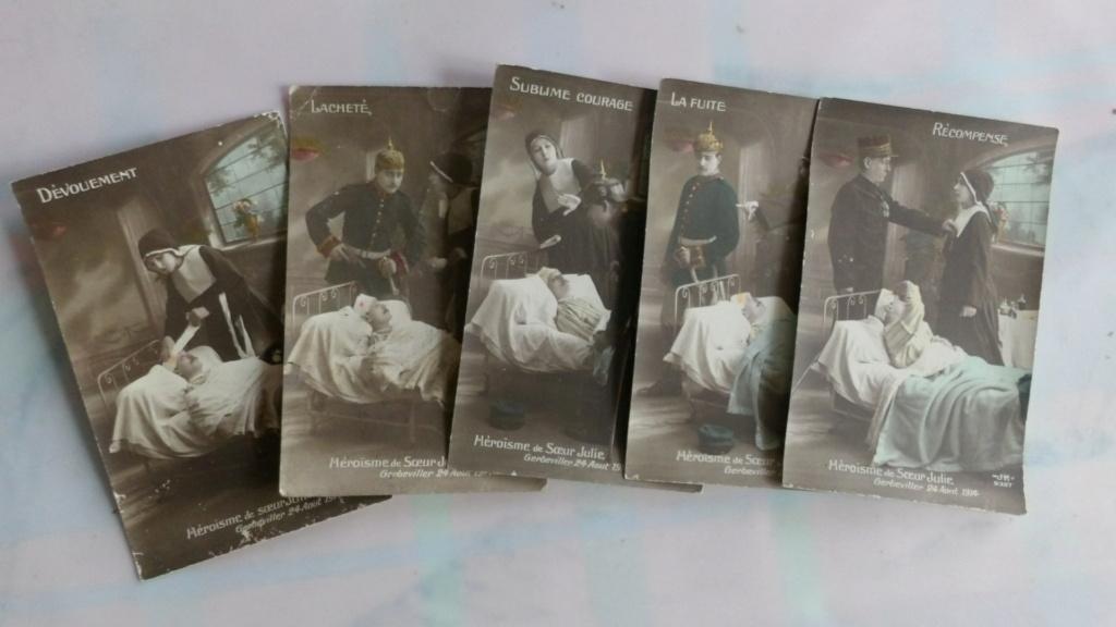 Cartes postales patriotiques françaises de la Grande Guerre - recensement 100_5712