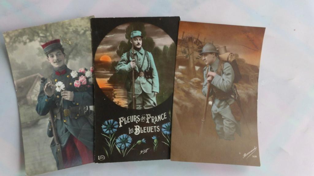Cartes postales patriotiques françaises de la Grande Guerre - recensement 100_5716