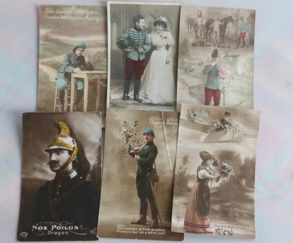 Cartes postales patriotiques françaises de la Grande Guerre - recensement 100_5720