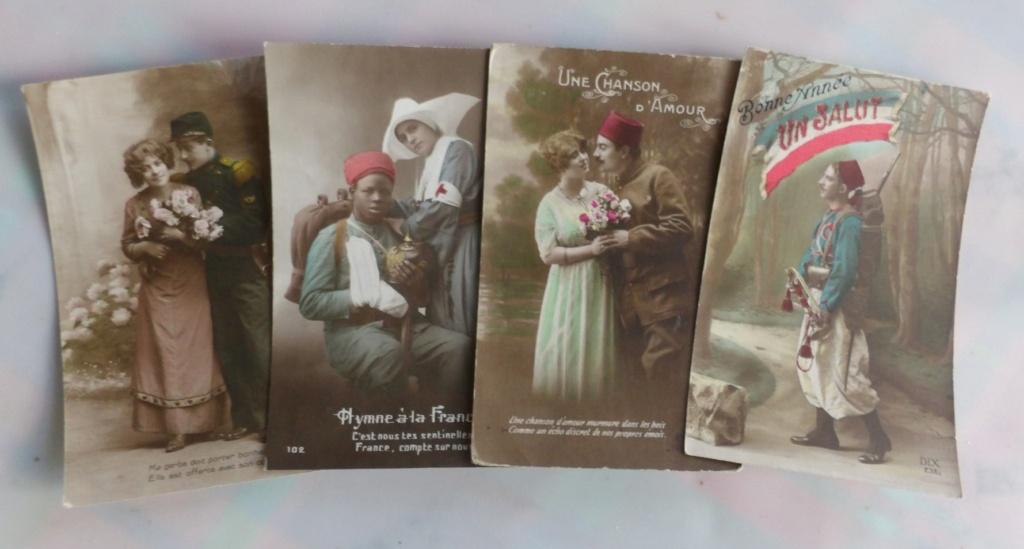 Cartes postales patriotiques françaises de la Grande Guerre - recensement 100_5721