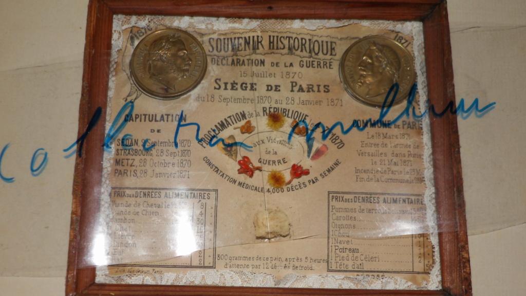 Rentrées Marine et Commune 1870-1871 18707110