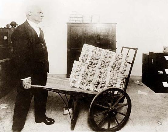 Billets de nécessité - hyper inflation Allemande  Hyper-10