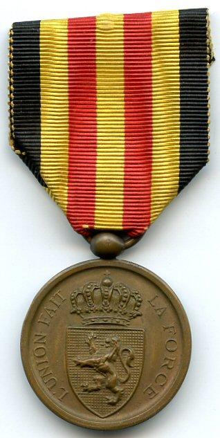La grande mobilisation Belge de 1870 Medail13