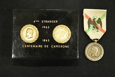 Medaille du Mexique  Camerone Medail15
