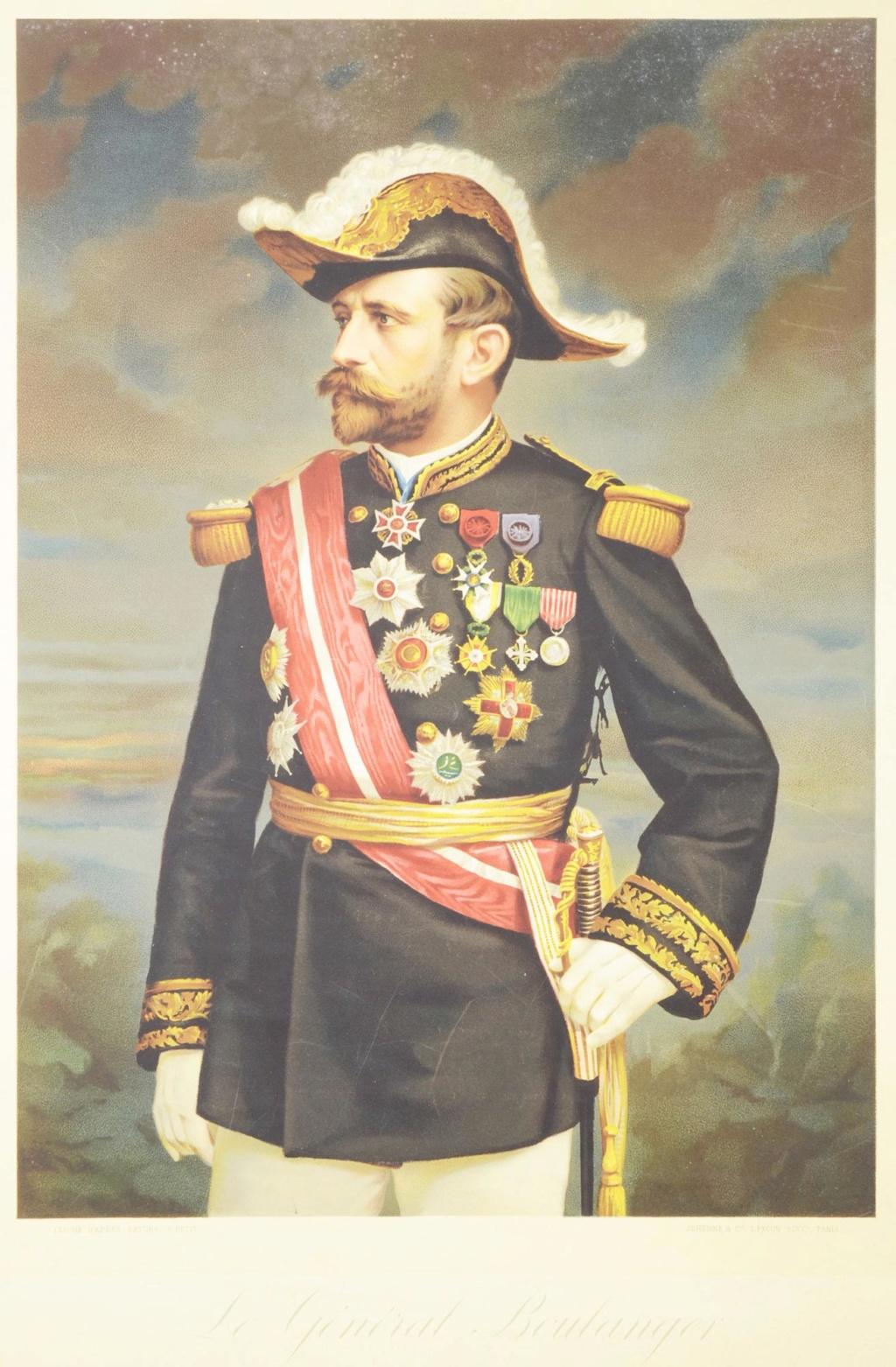 Beau Portrait au Pastel d'un Maréchal, Général décoré ?  Origin10