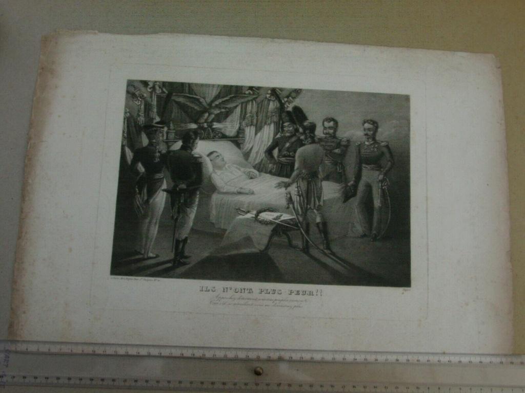 estimation lithographie Napoléon 1er S-l16016
