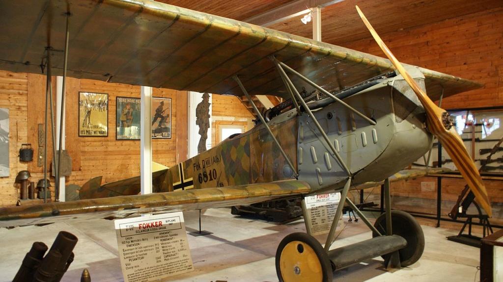 Avion allemand camouflé première guerre mondiale  World_10