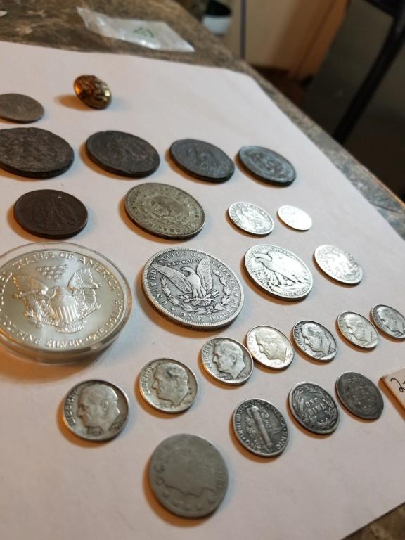 Vendo detector y toda mi colección de plata USA y monedas mexicanas 20200118