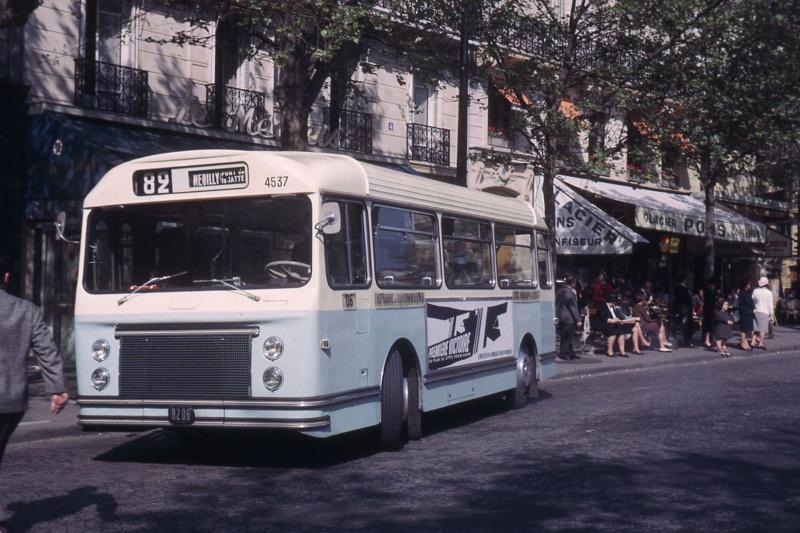 Paris ancien bus  Jhm-1941