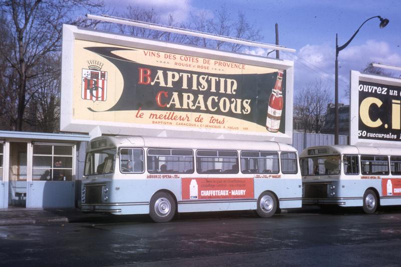 Paris ancien bus  Jhm-1942