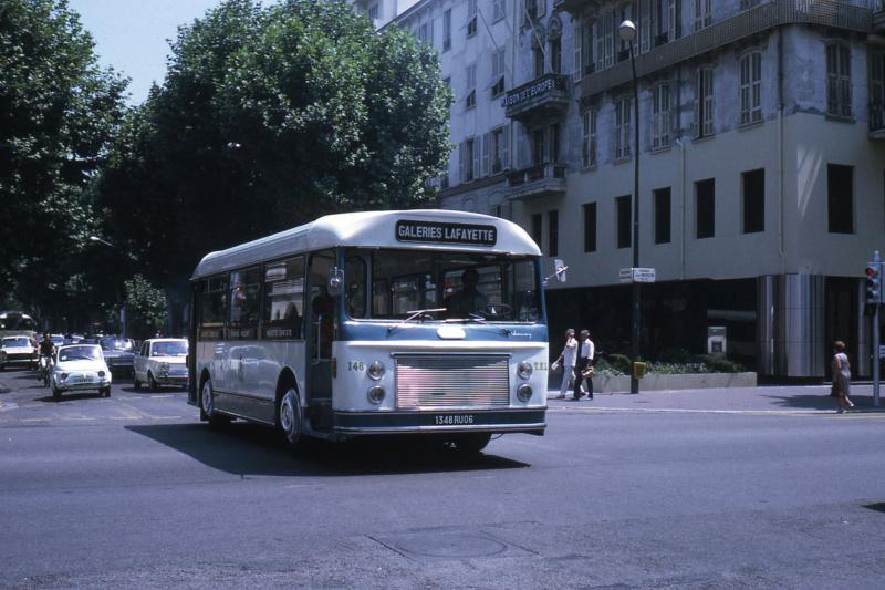 Paris ancien bus  Jhm-1943