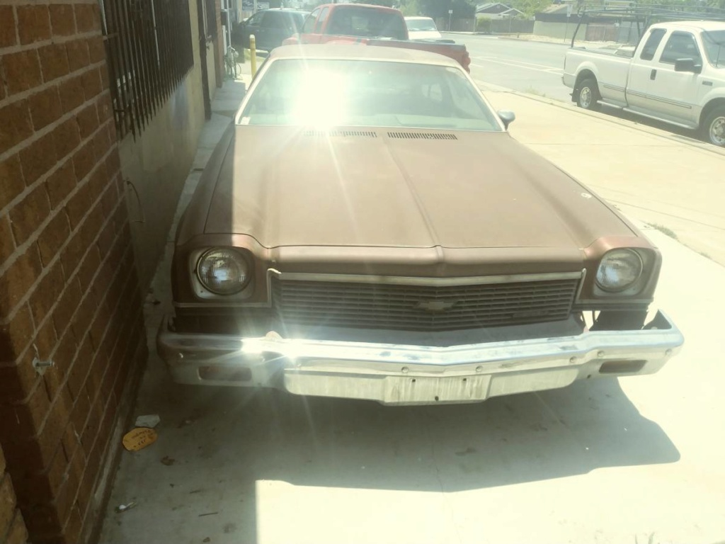 cheap 73 Chevelle project - Los Angeles area $1500!!! 00j0j_10