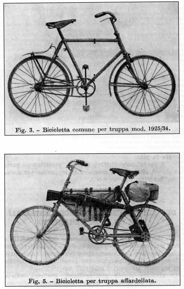 Bianchi - Bersaglieri Battaglione ciclisti  1110