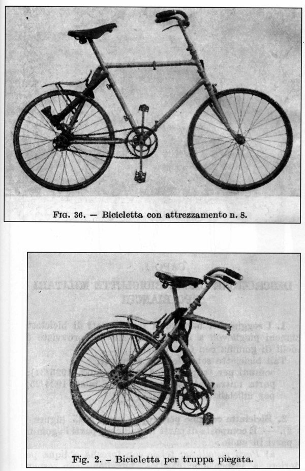 Bianchi - Bersaglieri Battaglione ciclisti  1210