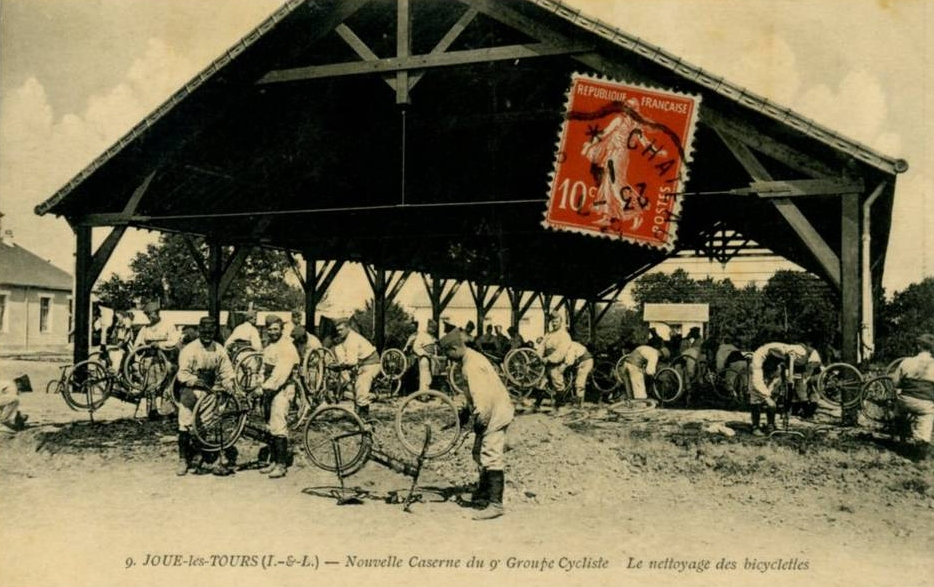 Peugeot - pliant Capitaine Gerard ,  model 1912  ww1 947_0010