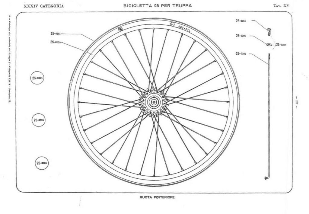 Bianchi - Bersaglieri Battaglione ciclisti  Catalo26