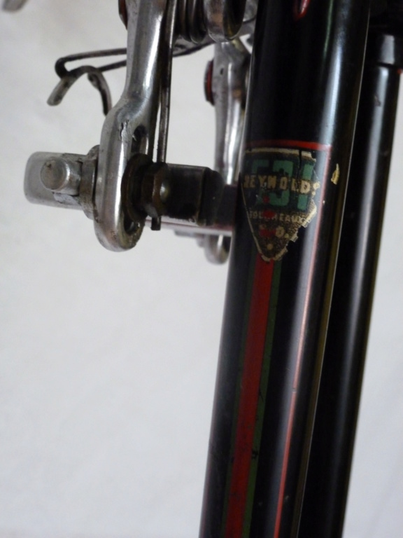 "velo de course Artisanal   "" Bianco ""  - Reynolds 531  P1090314"
