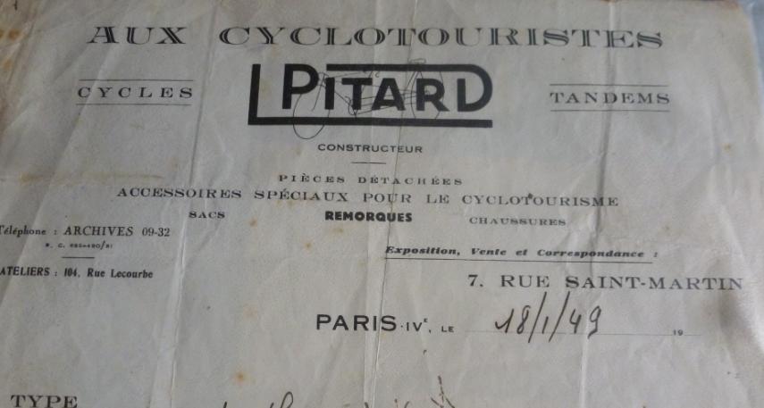 Pitard, cyclocampeur mi-50s Pi10