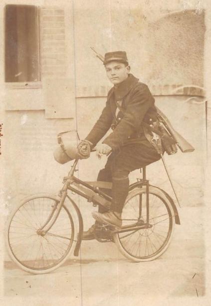 Peugeot - pliant Capitaine Gerard ,  model 1912  ww1 Uuu10