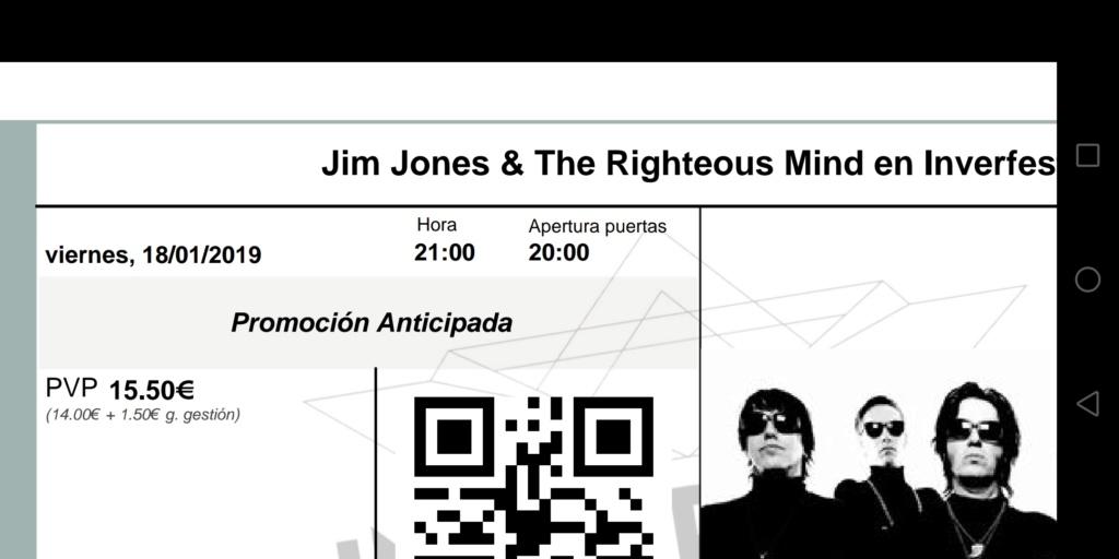 JIM JONES & THE RIGHTEOUS MIND - Gira en Enero2019 con disco nuevo bajo el brazo - Página 3 Screen10