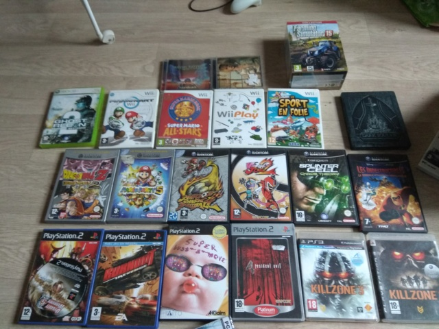[ECH/VDS] jeux wii gamecube snes ost steelbook ps4 mangas ... Img_2152